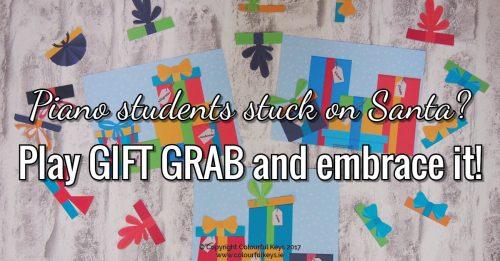 Gift GrabA Festive Fun Game for Intermediate Piano Students