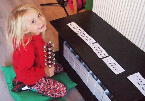 Rhythm in preschool piano lessons