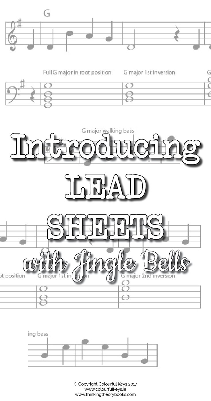 Using lead sheets in piano lessons