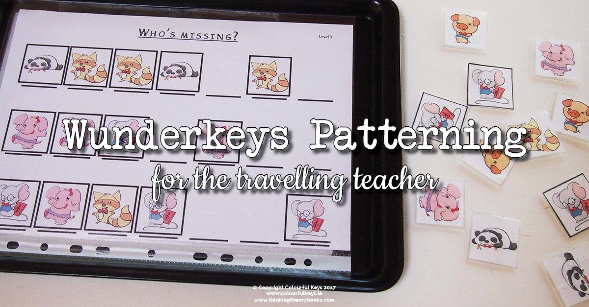 Wunderkeys patterning activities