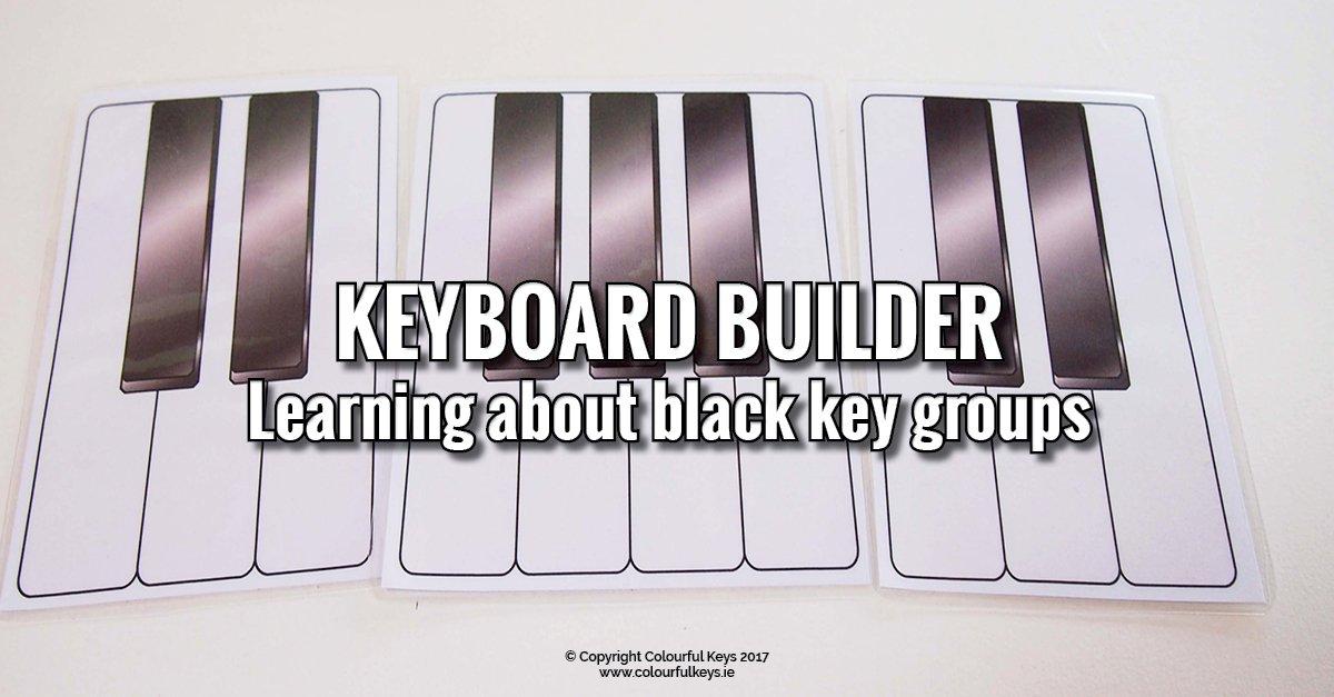 Piano Builder - black key group activity