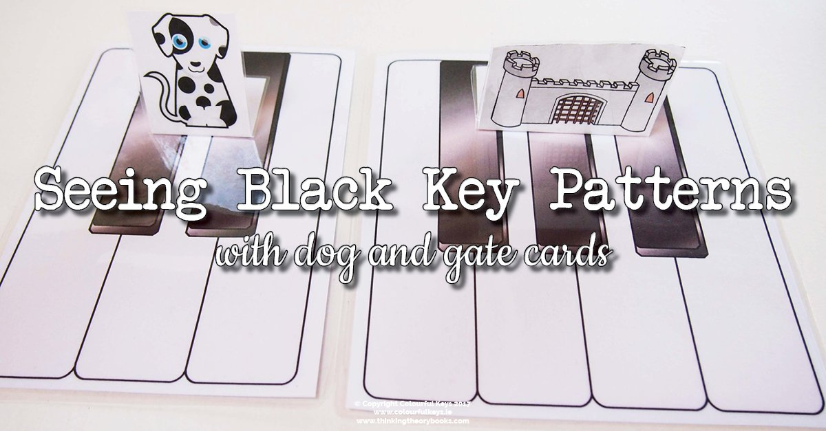Dogs and gates for the groups of black keys