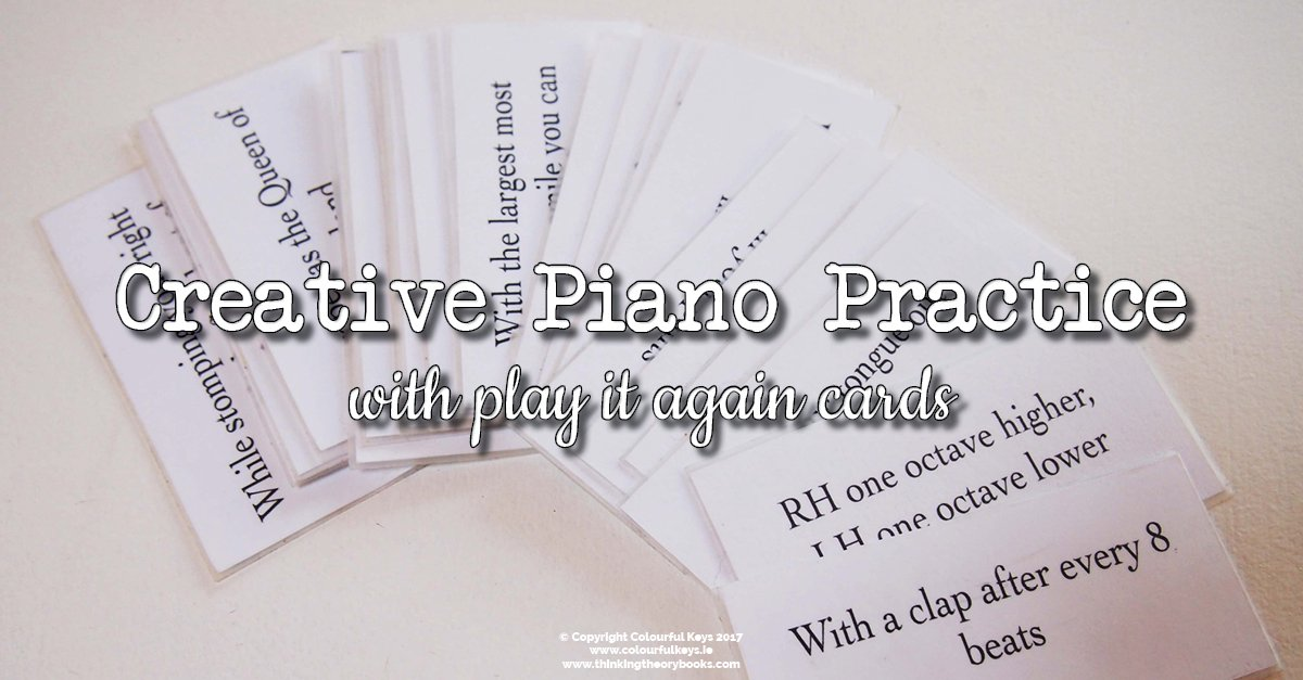Play it again cards