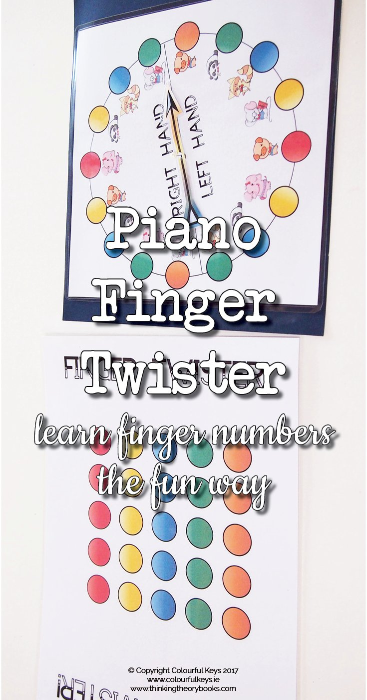 Piano number finger twister