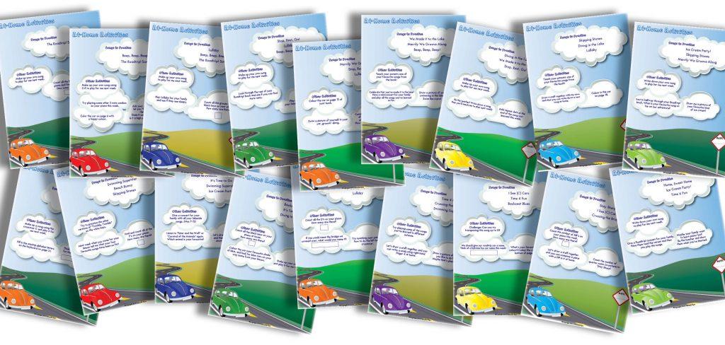 roadtrip assignment sheets