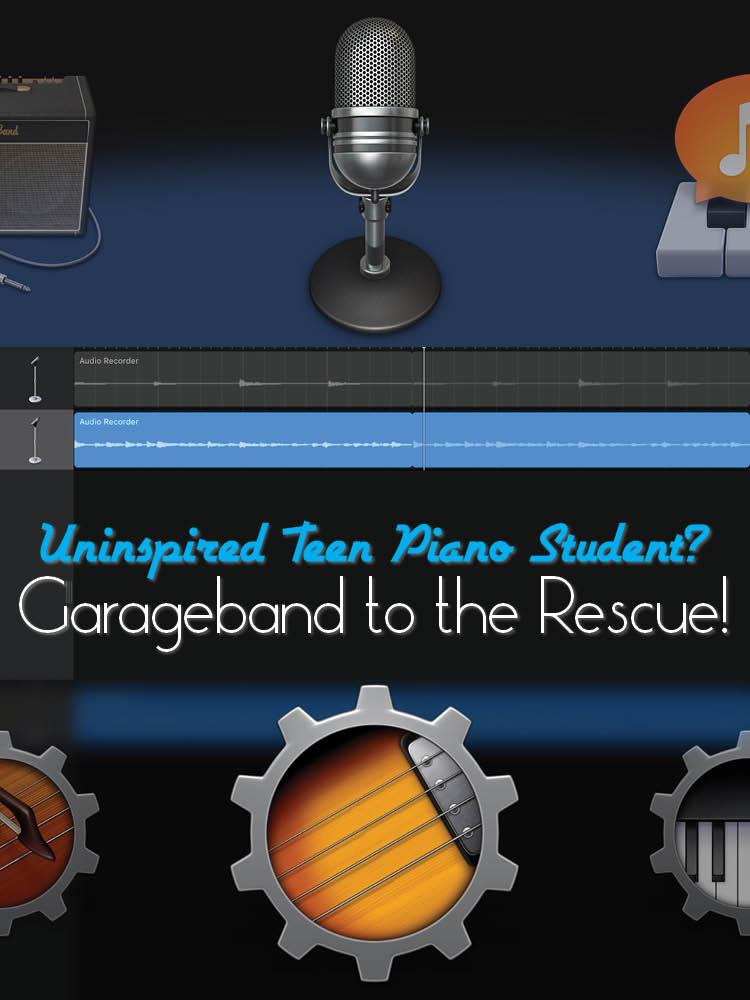 Garageband lesson plans
