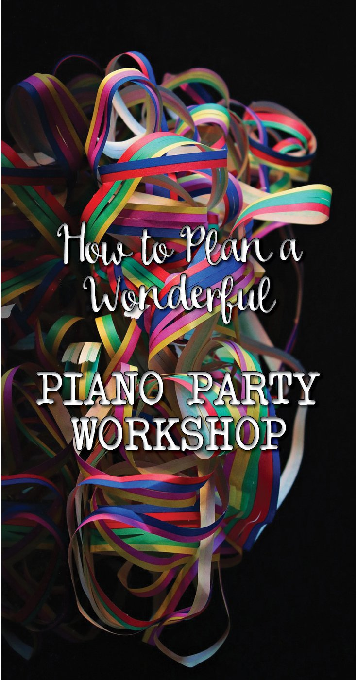 How to plan a piano party, without any stress!