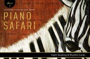 Piano Safari sight reading cards