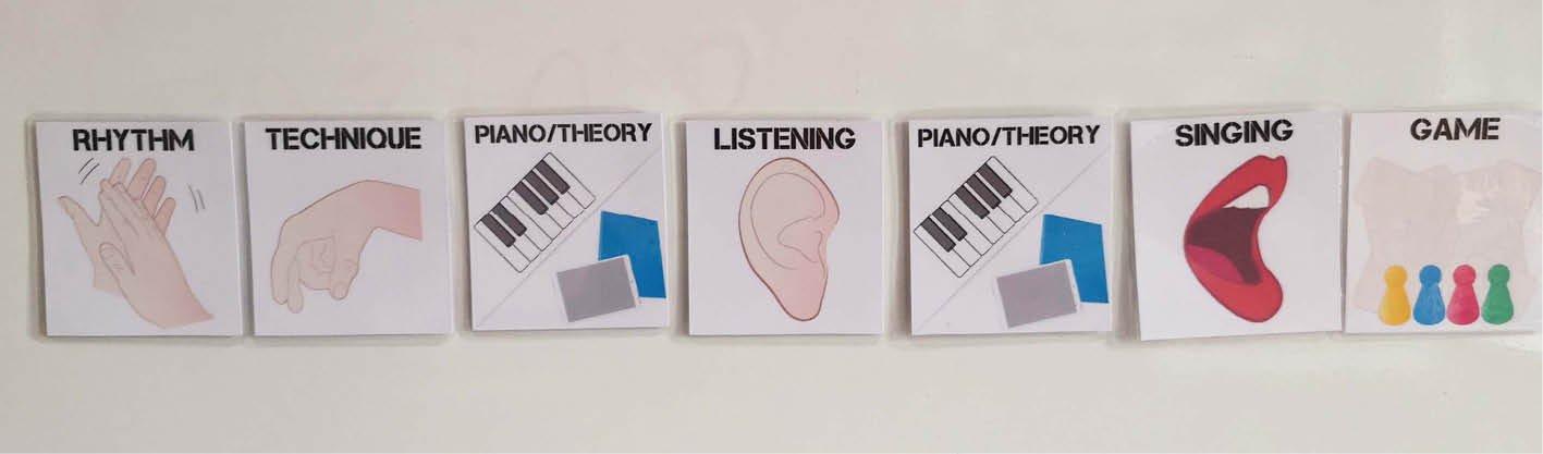 Group music lesson plan