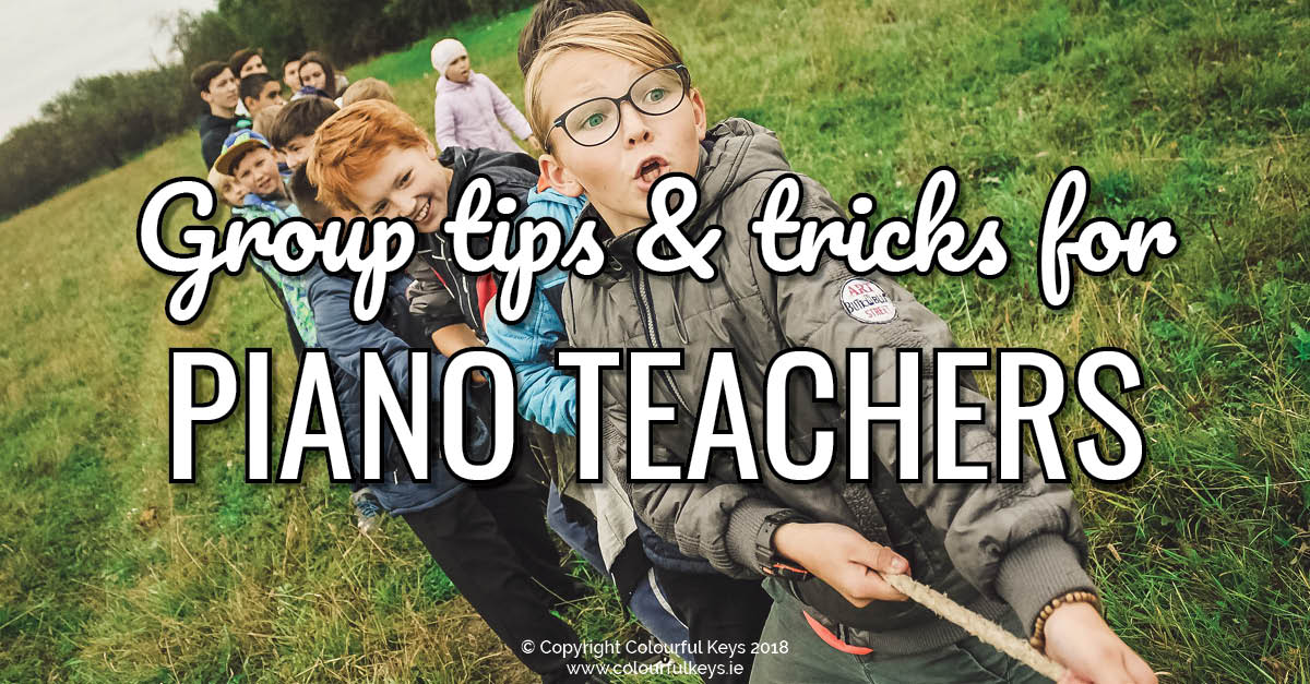 Tips and Tricks for When Group Piano Students are Ahead (or Behind)2