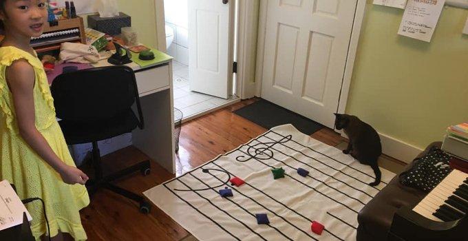 fabric floor staff