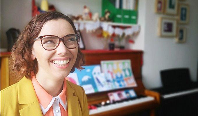 Nicola Cantan Colourful Keys Piano Studio Dublin