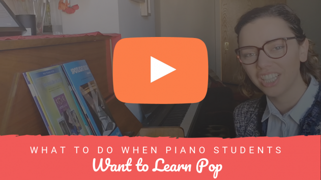 When Piano Students Want to Learn POP