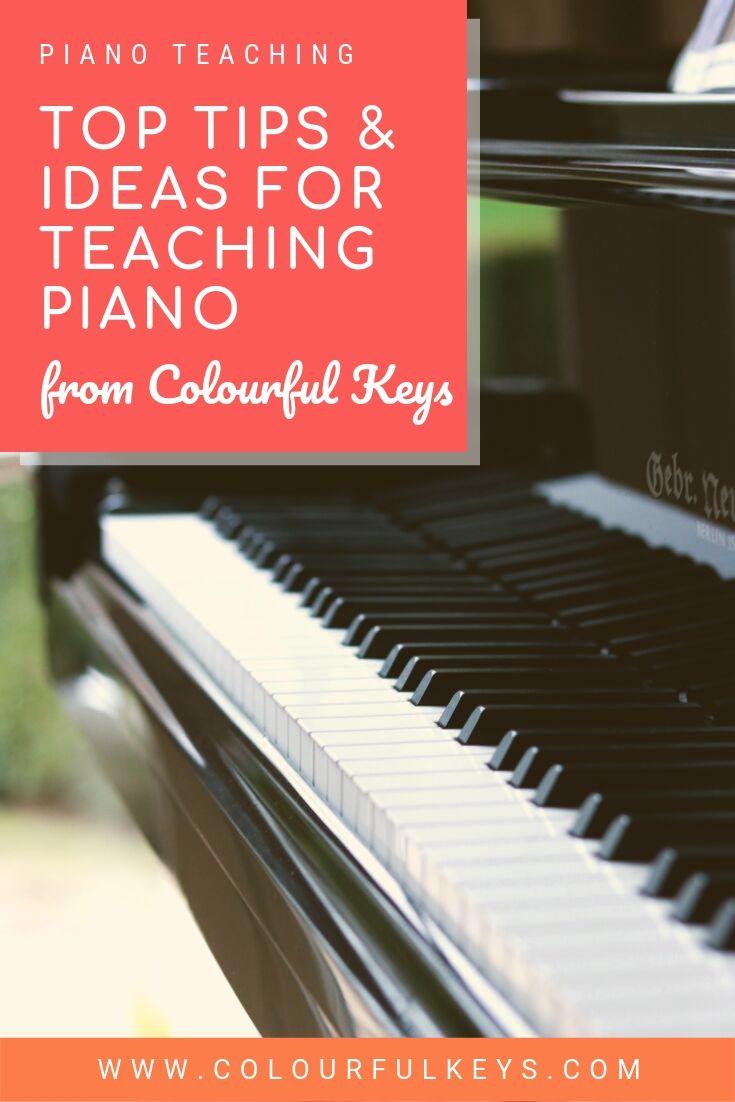 Top Piano Teaching Ideas