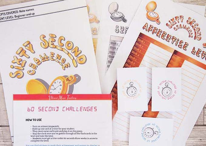 60 second challenges