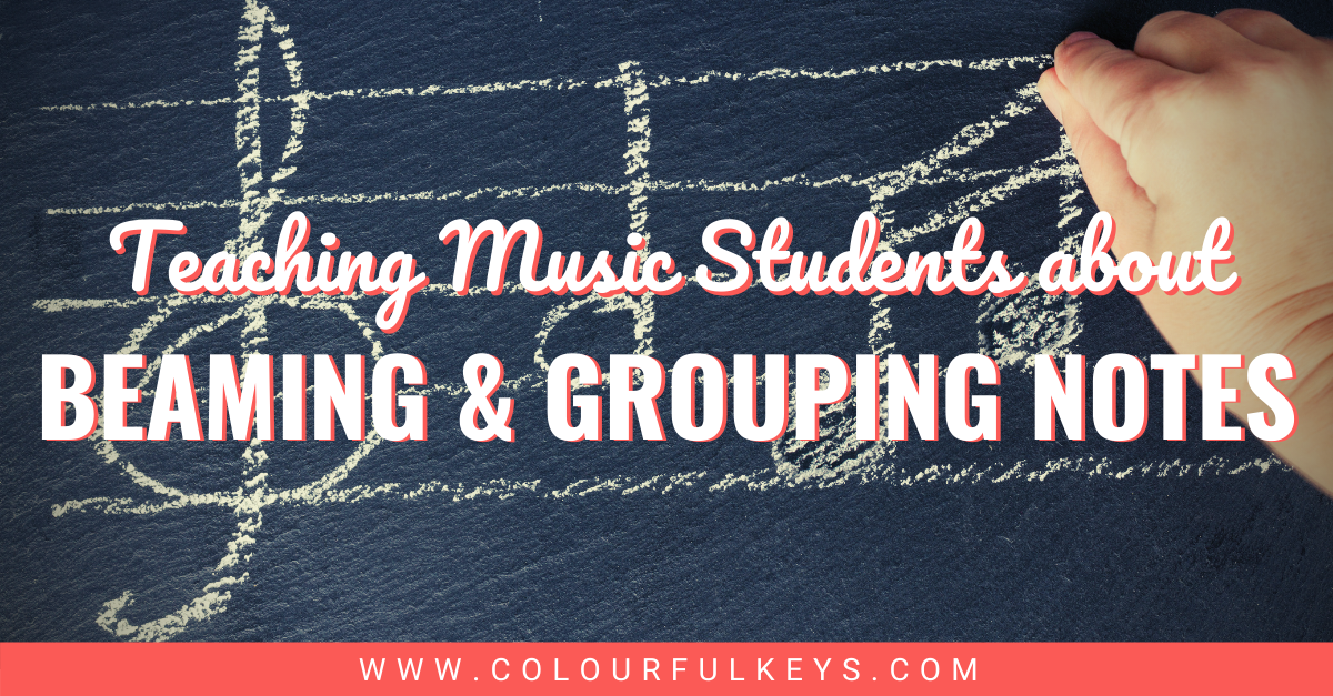 Teaching Music Students about Beaming and Grouping Notes facebook 1