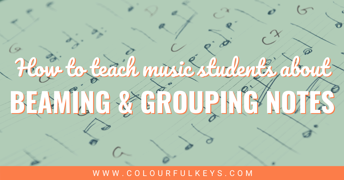Teaching Music Students about Beaming and Grouping Notes facebook 2