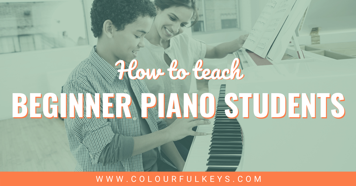 How to Teach Beginner Piano Students Facebook 2